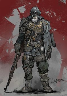 16 Ideas For Steampunk Concept Art Character Shadowrun