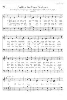 God Rest You Merry, Gentlemen. Gospel Song Lyrics, Carol Lyrics, Music Lyrics, Gospel Music, Christmas Songs Lyrics, Christmas Sheet Music, Christmas Games, Christmas Ideas, Christmas Crafts