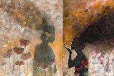 Original Fantasy Painting by Cismasiu Andreia Original Artwork, Original Paintings, Fantasy Paintings, Saatchi Art, Mixed Media Canvas, Buy Art, The Originals, Abstract Art, Canvas Art