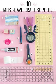 Must have craft supplies