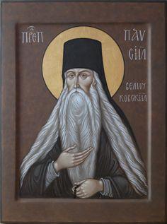 St Paisius Velichkovsky by Maxim Sheshukov Madonna, Best Icons, Orthodox Christianity, Icon Collection, Art Icon, Orthodox Icons, Renaissance Art, Religious Art, Holy Spirit