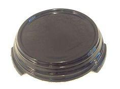 Vintage Black Amethyst Glass Display Stand