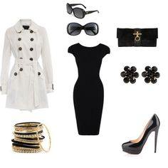 Hollywood glam! Your I'm the boss outfit