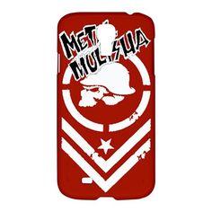 New Metal Mulisha Red Samsung Galaxy S4 Hardshell Case