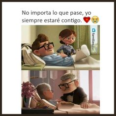 In a world demanding our attention, we inspire, invite and engage individuals to strengthen their closest relationships through meaningful moments together. Up Movie Quotes, Couple Quotes, Family Quotes, Love Quotes, Up Carl Y Ellie, Quotes En Espanol, Funny Love, Adventure Is Out There, Love Messages