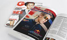 Simon Says Redbull Racing Eyewear Gq Ad Application Design, Advertising Campaign, Gq, Eyewear, Digital Marketing, Racing, Graphic Design, Glasses, General Eyewear