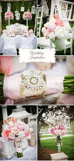 Pink Shabby Chic Weddingsjpg, style ideas and trends