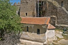 The small chapel of Agios Eleftherios from inside the old prison of Yenti Koule - Eptapyrgio. (Walking Thessaloniki, Route 08 - Seven Towers) Acropolis, Thessaloniki, Macedonia, Uber, Towers, The Locals, Prison, Greece, Old Things