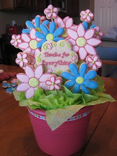 The Good Apple: Thank You Cookie Bouquet