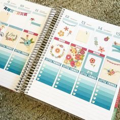 Flowers threw up on my planner All stickers from my shop Pawspaper (Pawspaper.Etsy.com)! #pawspaper #eclifeplanner #eclp #wlecweekly #plannernerd #plannerlove #planneraddict #plannergoodies #plannersupplies #plannerstickers #erincondren by pawspaper
