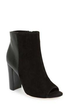 4319b61f4c419 Sam Edelman  Yarin  Open Toe Bootie (Women) size 7 Short Boots