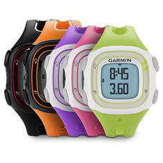To step up your running game: Garmin Forerunner 10   10 Trackers And Apps That Can Make Your Life So Much Better