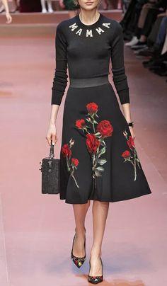 Dolce & Gabbana Fall/Winter 2015 Trunkshow on Moda Operandi