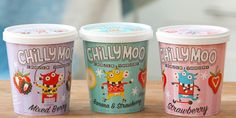 Chilly Moo Frozen Yogurt Concept