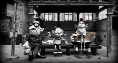 Mary and Max.  Adore.