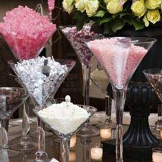 12 best center pieces images centerpieces bridal parties martini rh pinterest com