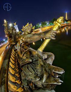 Pont Alexandre III & Tour Eiffel, Paris