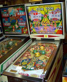"1963 Tom Tom ""Williams""Pinball Machine"