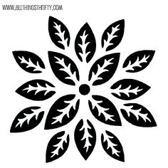 Use a stencil and joint compound for a 3-D effect      All Things Thrifty Home Accessories and Decor: Stencil patterns just for you!