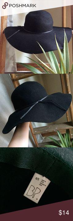 Nordstrom BP Black Floppy Felt Hat Excellent condition, never been worn. Nordstrom Accessories Hats