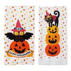 Happy Halloween Owl, Cat & Pumpkin Kitchen Towels 2 Pack Midnight Market http://www.amazon.com/dp/B00O8WFKRO/ref=cm_sw_r_pi_dp_O47Lvb09JYTNQ