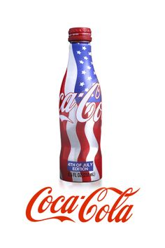 Coca Cola 4th of July Concept by Lucas Huffman, via Behance