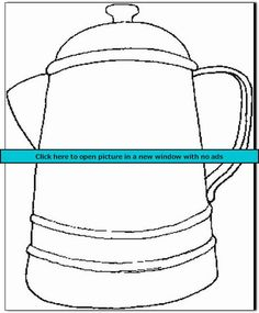 drinking hot chocolate cocoa coloring page coffee pot coloring page
