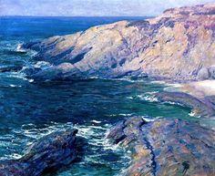 Guy Rose (early 20th century American Impressionist), Laguna Beach