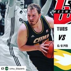 @cmu_blazers Basketball return for MCAC home action against the College Wesmen on Tuesday. Women at 6pm. Men at 8pm.