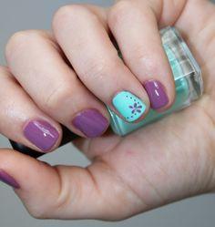 Plus de Belleza: Uñas Para la Primavera: Mint Lavender