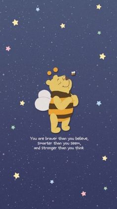 phone wallpaper quotes Ideas wallpaper phone disney winnie the pooh friends for 2019 Winnie The Pooh Drawing, Winnie The Pooh Pictures, Cute Winnie The Pooh, Winnie The Pooh Quotes, Cute Cartoon Wallpapers, Cute Wallpaper Backgrounds, Wallpaper Iphone Cute, Aesthetic Iphone Wallpaper, Wallpaper Quotes