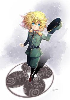 デグレチャフ少尉