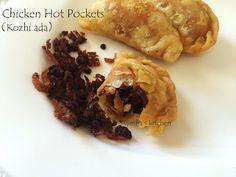 MALABAR KOZHI ADA / CHICKEN HOT POCKETS / SAVORY MEAT POCKETS