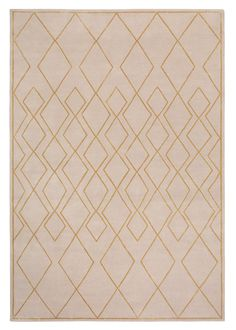 Deco Diamond Light by Tim Gosling | Wool and Silk Contemporary hand-knotted designer rugs