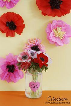 #SanValenting #DIY #flores www.celestianshop.com