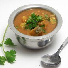 Lentil Plantain curry