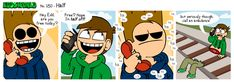 EWCOMIC No. 180 - Half by ~eddsworld on deviantART