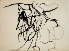 Discover art by Van Gogh, Picasso, Warhol & more in the Art Institute's collection spanning years of creativity. Neo Expressionism, Abstract Drawings, Art Institute Of Chicago, Artist Painting, Figure Drawing, Printmaking, Modern Art, Fine Art, Prints