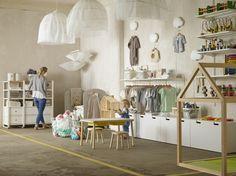 Schaff einen Verkaufsraum, der deine großen und kleinen Kunden begeistert. Mehr Inspiration und Ideen findest du bei IKEA BUSINESS.