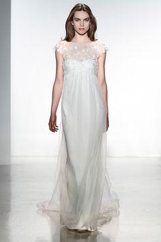 Christos wedding dress from the Spring 2014 bridal collection | via junebugweddings.com