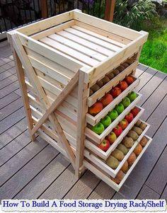 **DIY** How To Build A Food Storage Drying Rack/Shelf