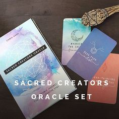 mediation oracle cards 3RD edition SACRED SYMBOLS divination Art & Collectibles