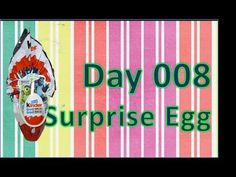 day 008 surprise egg abrir ovo surpresa kinder grand surpresa monstros universidade