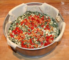 Italian-Fusion: Tuscan Spinach Bake