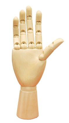 Mannequin Madness - Wooden Articulated Hand - Female , $25.00 (http://www.mannequinmadness.com/wooden-articulated-hand-female/)