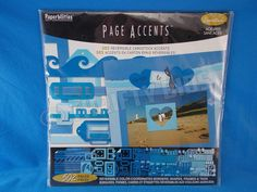 Paperbilities Page Accents 502 Pcs Royal Blue Borders Shapes Frames Tags New  #WestrimCraftsPaperbilities