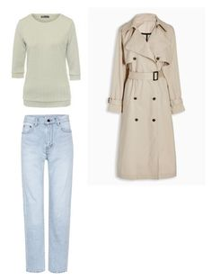Базовый сет 2 by julia-tcherba on Polyvore featuring мода and Yves Saint Laurent