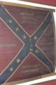 An original Gettysburg battle flag.