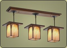 Craftsman Lighting Fixture :: Craftsman Style Light