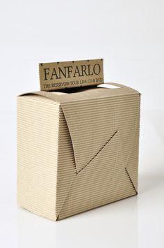 Starpack packaging awards - Fanfarlo CD packaging by Chantelle Barnard-Rance, via Behance